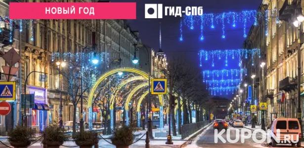 Скидка 50% на новогоднюю экскурсию по Петербургу с розыгрышем призов от компании «Гид-Спб»