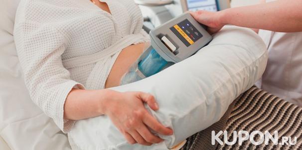 Прессотерапия или криолиполиз зон на выбор в сети клиник «Нью Боди»: внутренней поверхности бедер, талии, живота или галифе. Скидка до 91%